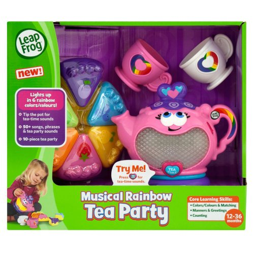 Amazing LeapFrog Musical Rainbow Tea Party