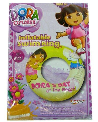 DORA Inflatable Swim Ring 20  (Dora's Day at the Beach)