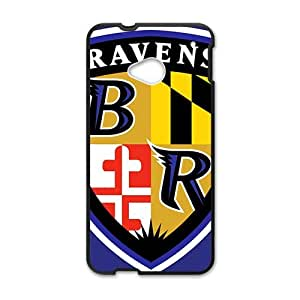 NCCCM baltimore ravens logo New Phone Case for HTC ONE M7 Black by mcsharksby Maris's Diary