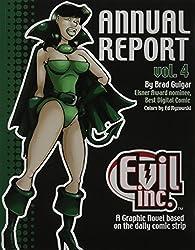 Evil Inc Annual Report Volume 4 (Evil Inc Annual Report Tp (Toonhound))