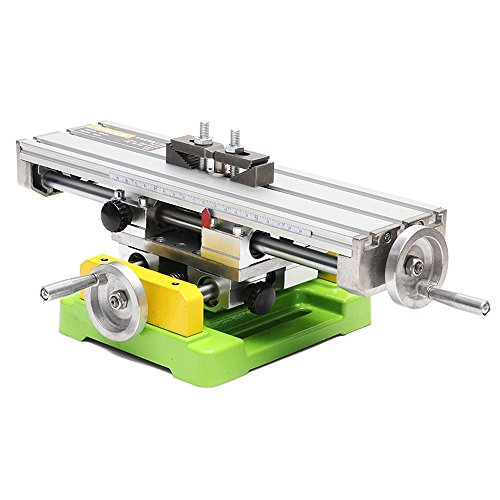 Lukcase Multifunction Worktable Milling Working Table Milling Machine Compound Drilling Slide Table For Bench Drill (Heavy-Sized)
