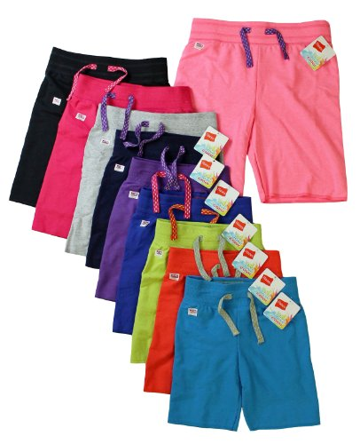 Hanes Premium Girls French Terry Bermuda Shorts