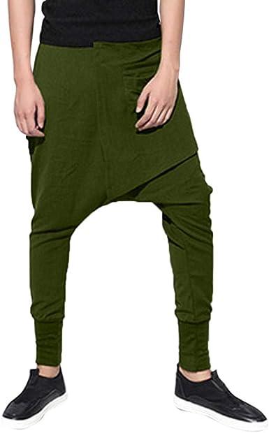 Pantalones Largos para Hombre, Hombres Moda otoño Joggings ...