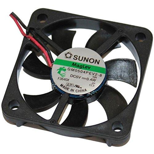Fan / Ventilatore 5V 0, 4W 40x40x6mm 9, 3m³/h 26dBA ; Sunon MF40060V2-000U-A99 3m³/h 26dBA ; Sunon MF40060V2-000U-A99