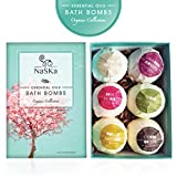 Bath Bomb Press Machine Valentines Special Bath Bombs Gift Set by Naska  Organic Natural Ingredients  Great Gift Set  6x4oz Fizzy Bomb  Special Gift Bonus 140 pages eBook Gift