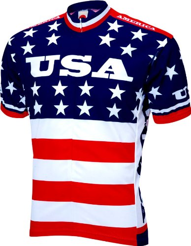 - 1979 Team USA Cycling Jersey Men's Large Short Sleeve by World Jerseys