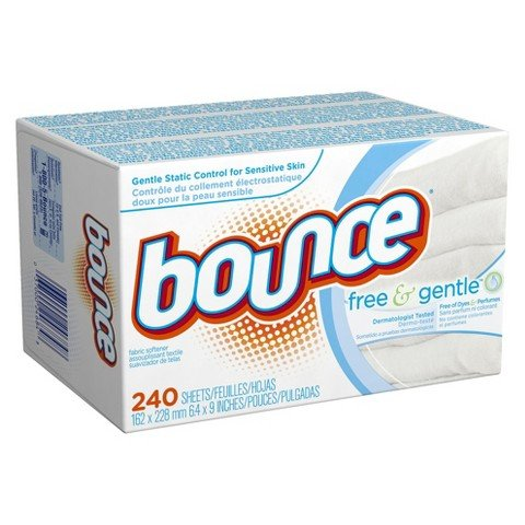 Bounce Free & Gentle Dryer Sheets - 240 Count