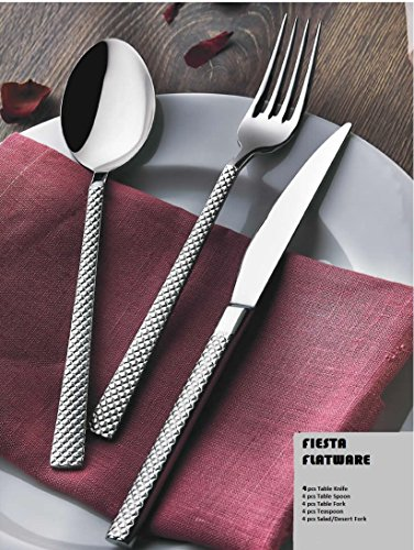 16 10 stainless flatware - 6