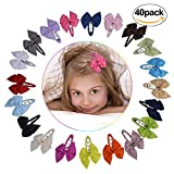 Baby Hair Clips,Aniwon Colored Flower Cute Hair Accessories Girls Boutique Beautiful Bow Hair Clips For Kids Toddlers Teens