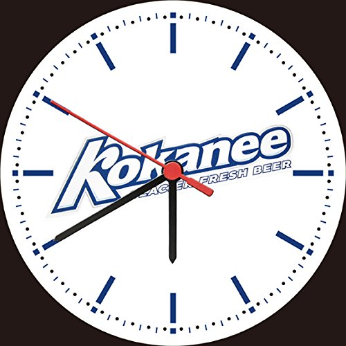 kokanee-glacier-fresh-beer-logo-bar-wall-clock