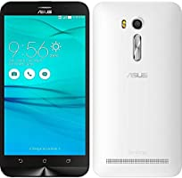 "Smartphone Asus Zenfone Go Live Branco 16GB TV Digital Tela de 5,5"" Quad Core Dual Chip e Camera 13M"