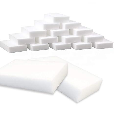 20 Magic goma de borrar esponjas de limpieza casi todas las superficies – blanco cocina limpieza