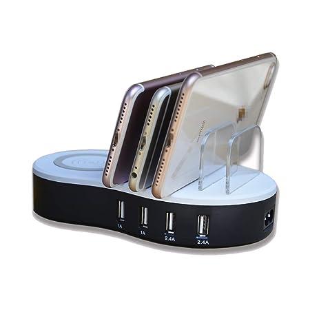 Cargador Inalámbrico Wireless Charger Soporte De Carga del ...
