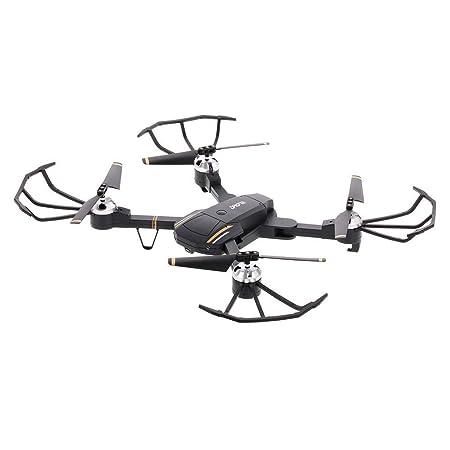 JIANGfu E58 Attitude Hold Drone 2,4 GHz 4 CH 1080P HD Cámara WiFi ...