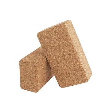 RXRENXIA Yoga Block Cork - Bloque De Yoga EcolóGico ...