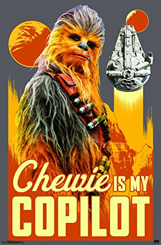 with Chewbacca Posters design