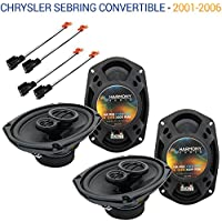 Chrysler Sebring Convertible 2001-2006 OEM Speaker Upgrade Harmony Speakers New
