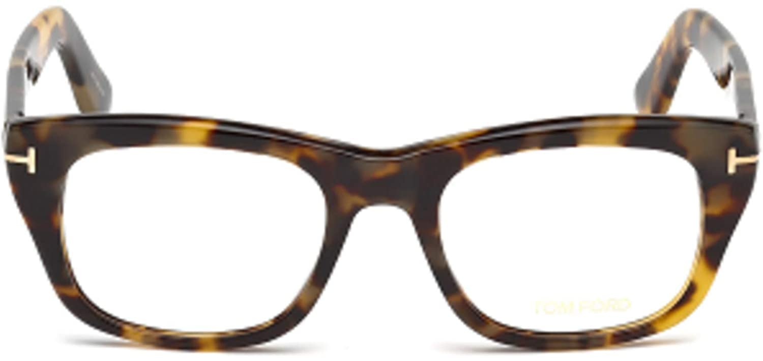9a14a3b709f20 Eyeglasses Tom Ford FT 5472 056 havana other at Amazon Men s Clothing store