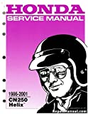 61KS411 1986-2001 Honda CN250 HELIX Scooter Service Manual
