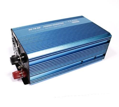 Cablematic - Reine Sinus-Wechselrichter 10 ~ 16VDC bis 220VAC 1000W Solar-