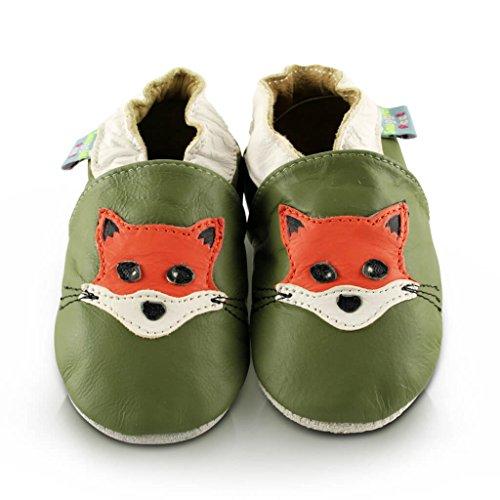 Snuggle Feet Babyschuhe Leder weich - Lion | 6-12 Monate Fuchs