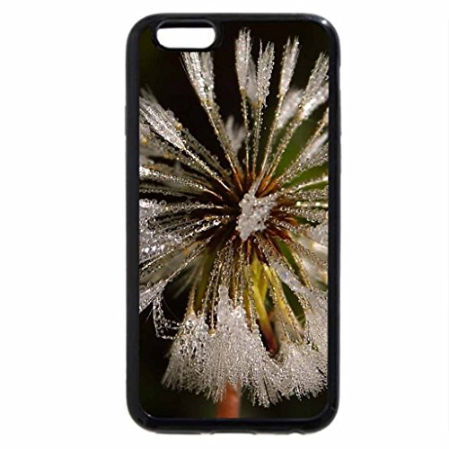 iPhone 6S / iPhone 6 Case (Black) Dew Flower