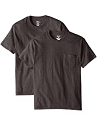 Men's 2 Pack Short-Sleeve Pocket Beefy-T