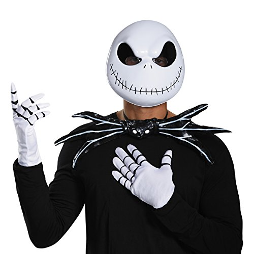 Jack Skeleton Kit Adult, As Shown, One Size (Skeleton Halloween Mask)