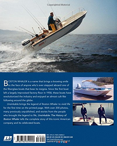Unsinkable: The History of Boston Whaler: Matthew D  Plunkett, Clint