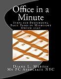 Office in a Minute, Diane Martin, 0985683759