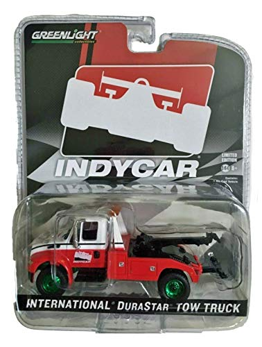 Greenlight Chase Green Machine 30032 2019 International Durastar 4400 IndyCar Series Tow Truck Hobby Exclusive 1:64 Scale (Best Tow Car 2019)