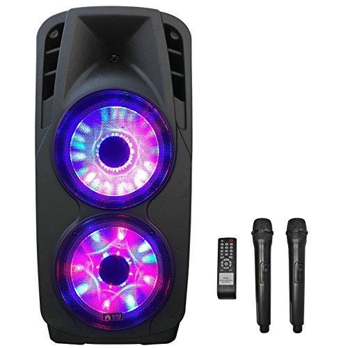 (EMB PKL6000 2000W 2x12 PA Rechargeable Trolley Speaker System )
