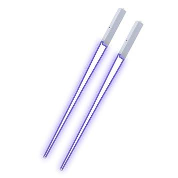 2Pair LED Luminous Chopsticks Light Up Durable Lightweight Portable home