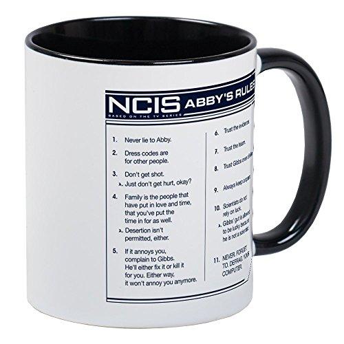 (CafePress - NCIS Abby's Rules Mug - Unique Coffee Mug, Coffee)