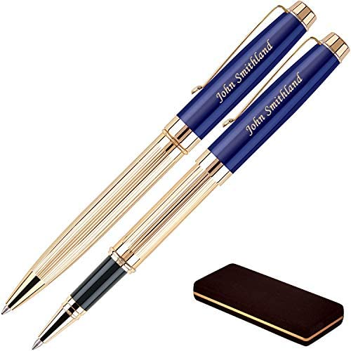 Personalized Braxton Ballpoint Rollerball Pen product image