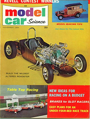 Model Car Science Magazine November 1964