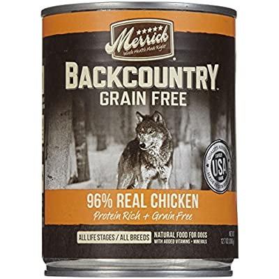 Merrick Backcountry 96% - Real Chicken Recipe - 12.7 Oz - 12 Ct