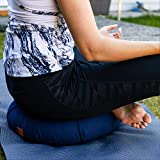 Seat Of Your Soul Meditation Cushion Navy – 10