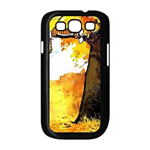 YUAHS(TM) Customized Hard Back Phone Case for Samsung Galaxy S3 I9300 with Calvin and Hobbes YAS398042