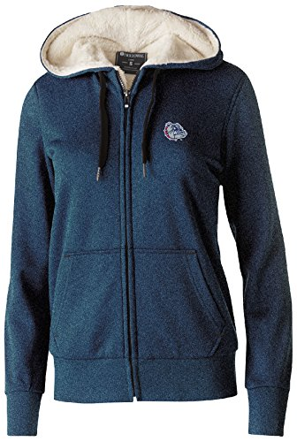 Gonzaga Bulldogs Jacket (NCAA Gonzaga Bulldogs Women's Artillery Sherpa Jacket, Medium, Navy Heather)
