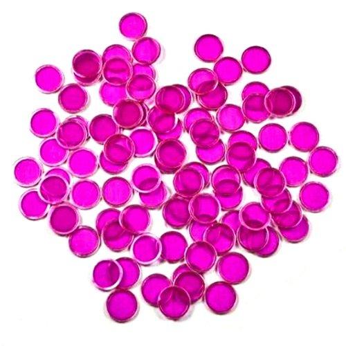 Markers Bingo Extra - Purple Magnetic Bingo Marker Chips 100 Pieces