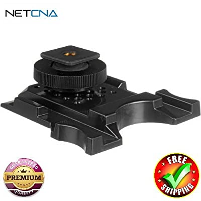 AFP512 Camera Shoe Mount With Free 6 Feet NETCNA HDMI Cable - BY NETCNA