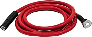 """Snow Plow 63"""" Red Power Cable Wire Replacement for Meyer EZ Classic 15671"""