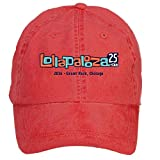 Unisex 2016 Lollapalooza Chicago 25th Anniversary Cotton Baseball Cap with Adjustable Hat Men Red