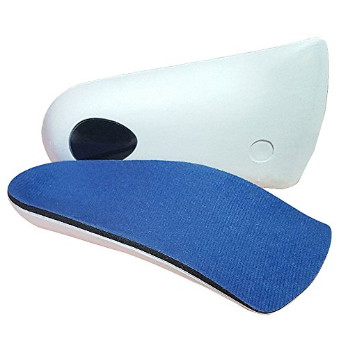 Orthotic Insoles,Talshy Shoe Insoles 3/4 Length Support Insoles with Arch Support for Flat Feet Plantar Fasciitis Men Women (M- W9-10.5 | M7.5-9)