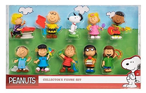 Just Play Peanuts Collector Figures (10 Pack) -