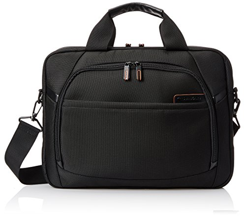 Samsonite Pro 4 DLX Slim Brief - 15.6 Inch, Black, One (Samsonite Pro Dlx Black Luggage)