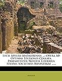 Lucii Apuleji Madaurensis ..., , 1272981622