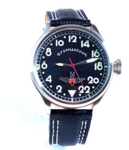 Used, Russian watch TRIUMPH GAGARIN (Black) for sale  Delivered anywhere in USA
