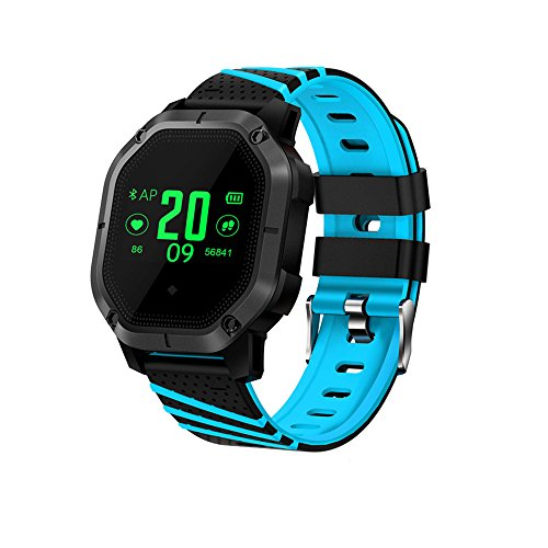 Fitness Tracker HR,Businda Activity Watch with Heart Rate Blood Pressure Monitor with Color Screen IP68 Waterproof for Android & IOS Phone by Businda